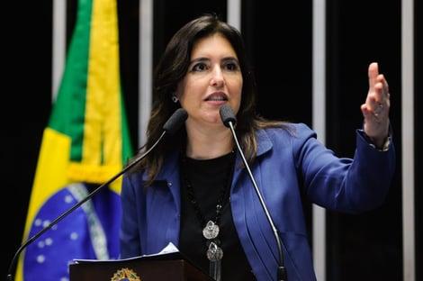 Rifada pelo MDB, Simone Tebet é candidata avulsa no Senado