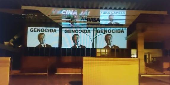 """""""Bolsonaro genocida"""""""