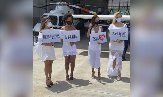 DEM recebe Lira com festa na Bahia