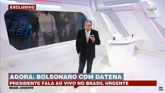"Bolsonaro: ""Só Deus me tira daqui"""