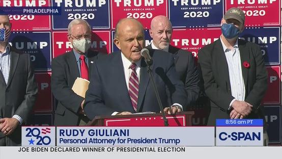 Empresa de urnas Dominion processa Giuliani e pede US$ 1,3 bilhão