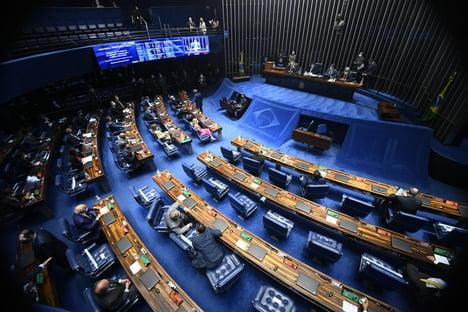 AO VIVO: senadores elegem nova Mesa Diretora