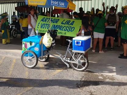 """""""Arthur Lira é voto impresso"""""""