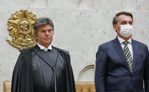 Fux pede a Bolsonaro para aguardar saída de Marco Aurélio para indicar novo ministro