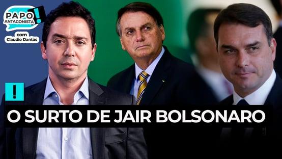 Bolsonaro foge de pergunta sobre Flávio