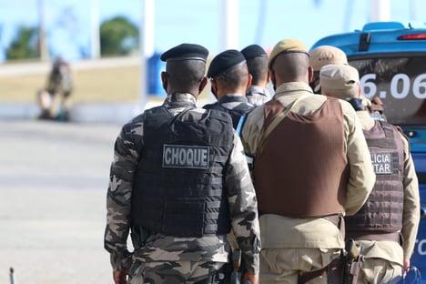 Lideranças policiais bolsonaristas incitam tropas contra governadores