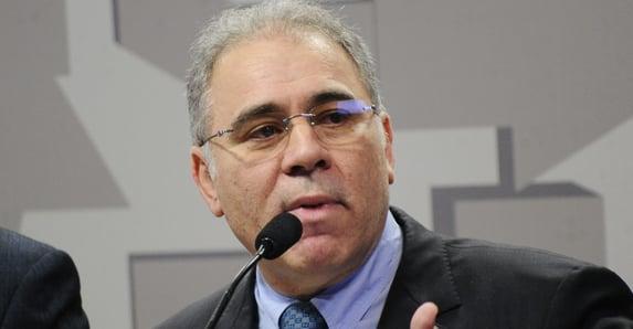 """Queiroga: """"A política é do governo Bolsonaro, não é do ministro da Saúde"""""""