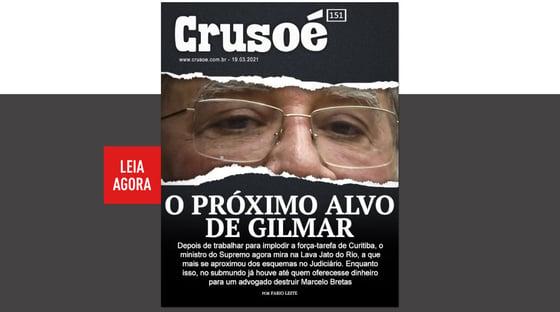 """O novo alvo de Gilmar"""