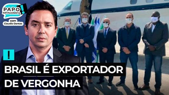 A máscara de Bolsonaro caiu