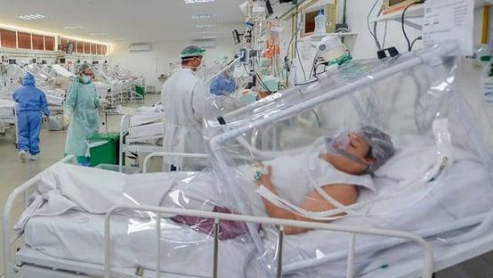 Colapso no ES: hospitais transferem pacientes por falta do kit intubação