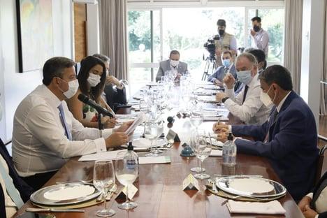 18 governadores reunidos com Arthur Lira