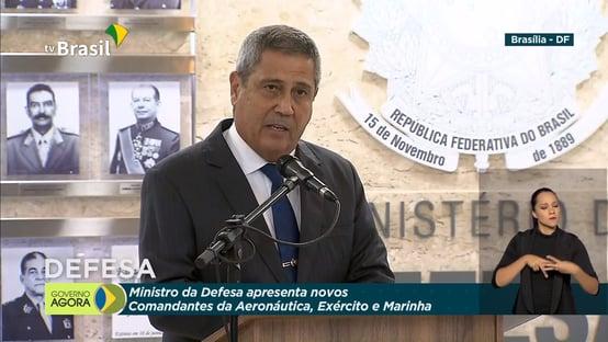 """Braga Netto: """"Maior patrimônio de uma nação é a garantia da democracia"""""""