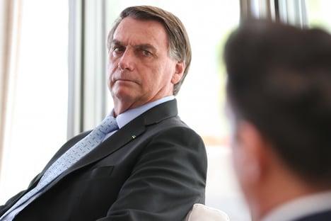 Bolsonaro conversa com presidente da Sociedade Brasileira de Cardiologia