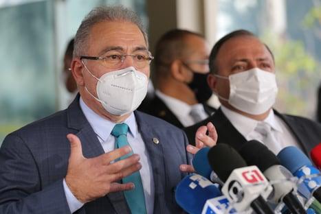 Queiroga assume Ministério da Saúde em cerimônia a portas fechadas