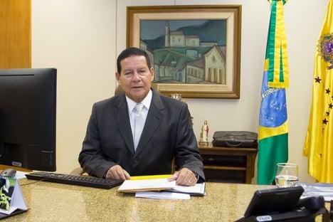 Mourão e embaixadores da UE trocam ideias sobre Amazônia