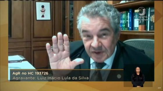 Marco Aurélio pede vista, mas julgamento sobre Moro continua