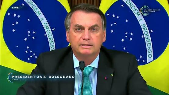 Bolsonaro antecipa meta de zerar emissões até 2050, mas não resolve pedalada do carbono