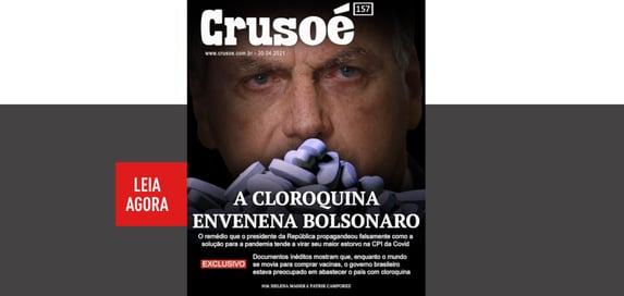 A cloroquina intoxica Bolsonaro na CPI