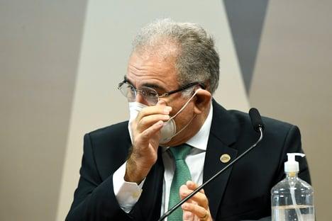 'Desconheço guerra química da China', diz Queiroga, sobre alegações de Bolsonaro