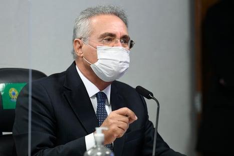 CPI tem provas de reuniões diárias de Bolsonaro com ministério paralelo, diz Renan
