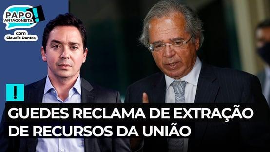 Guedes reclama de extração de recursos da União, mas não cita orçamento secreto