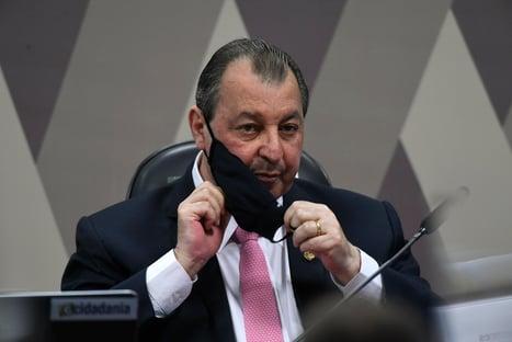 Presidente da CPI da Covid se irrita com declarações de Bolsonaro