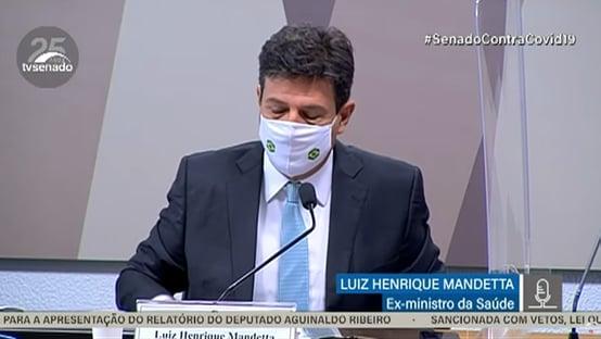 Mandetta desmente Bolsonaro