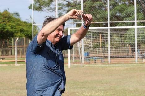 O emoji de Bolsonaro sobre a morte de Bruno Covas
