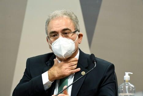 Petista pede reconvocação de Marcelo Queiroga para a CPI da Covid