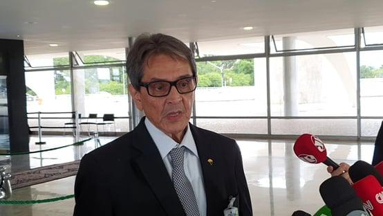 Mourão recebe Roberto Jefferson para falar de conjuntura política