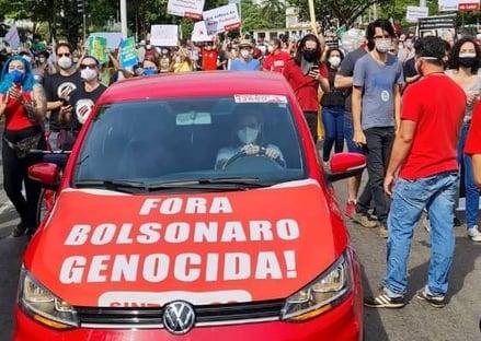 PM que prendeu professor por Bolsonaro genocida é afastado da corporação