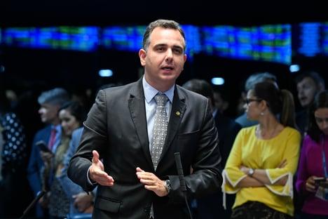 PSD do Senado confirma apoio a Pacheco