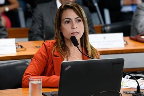 """""""OSenado perdeu sua força"""" com Alcolumbre, diz senadora do PSL"""