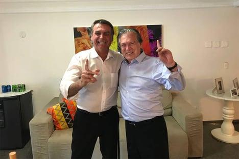 Bolsonaro recebeu Bivar na semana passada