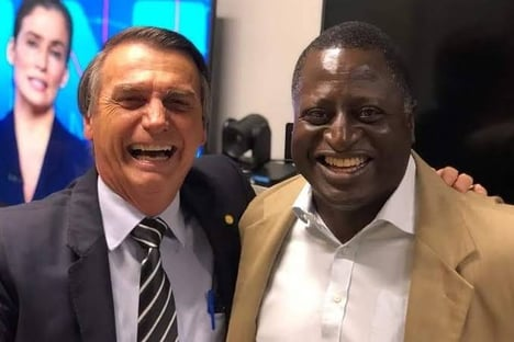 Hélio Negão tenta encerrar divergência entre Bolsonaro e Michelle