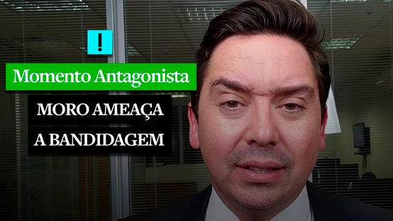 MOMENTO ANTAGONISTA: MORO AMEAÇA