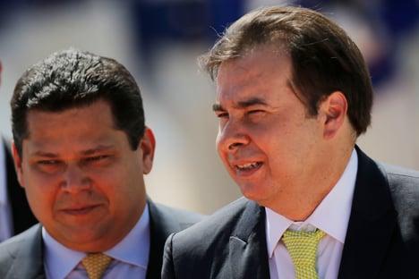 Reeleição de Maia e Alcolumbre é assunto interno do Congresso, diz AGU
