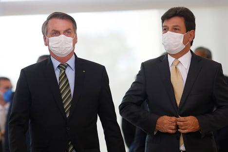Guerra entre Bolsonaro e Mandetta vai virar filme