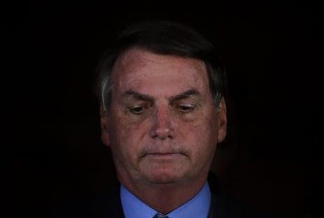 Bolsonaro preocupadíssimo com a cobertura do JN
