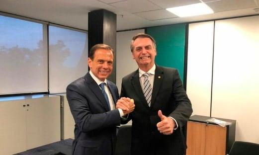 Bolsonaro, Doria e Lula rejeitados em São Paulo
