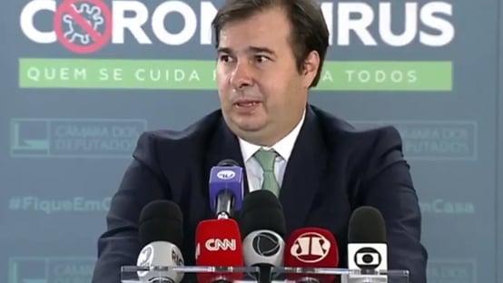 653 dias, Rodrigo Maia