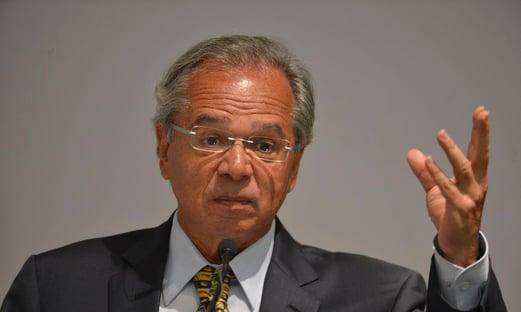 """Guedes: """"Não se pode falar que Bolsonaro foi eleito por causa do Moro"""""""