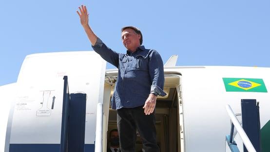 Bolsonaro visita Mato Grosso