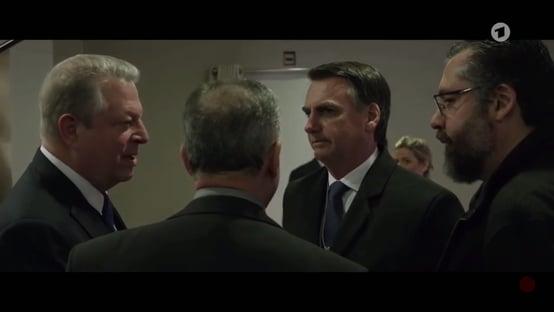 """""""Me encantaría explorar el Amazonas junto con Estados Unidos"""", dijo Bolsonaro a Al Gore."""