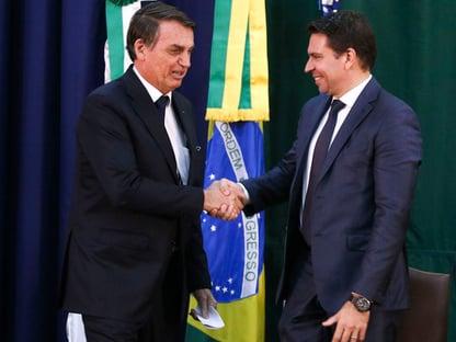 Bolsonaro no comando da PF