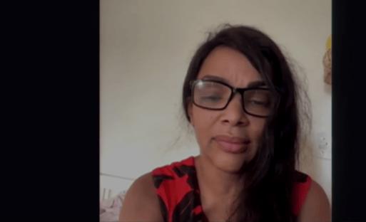 Vídeo: Flordelis entra em sessão da Câmara e pede ajuda da bancada feminina