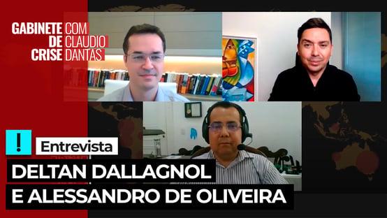 EXCLUSIVO: Deltan Dallagnol e Alessandro Oliveira debatem transição na Lava Jato