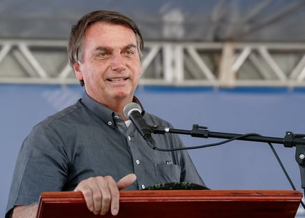Preservação do meio ambiente está de parabéns, diz Bolsonaro