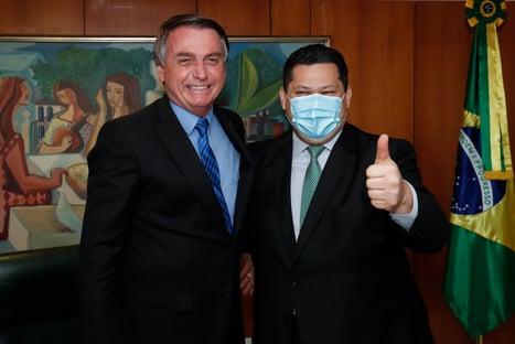 AGU vai defender apenas reeleição de Alcolumbre