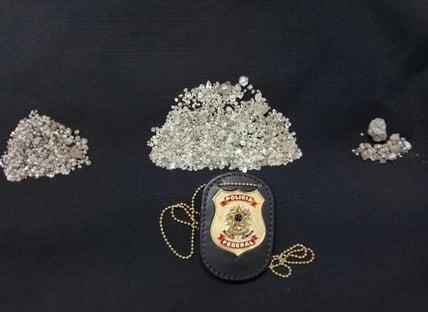 PF mira exploração ilegal de diamantes em terras indígenas